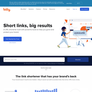 Bitly URL Shortener - Short URLs & Custom Free Link Shortener