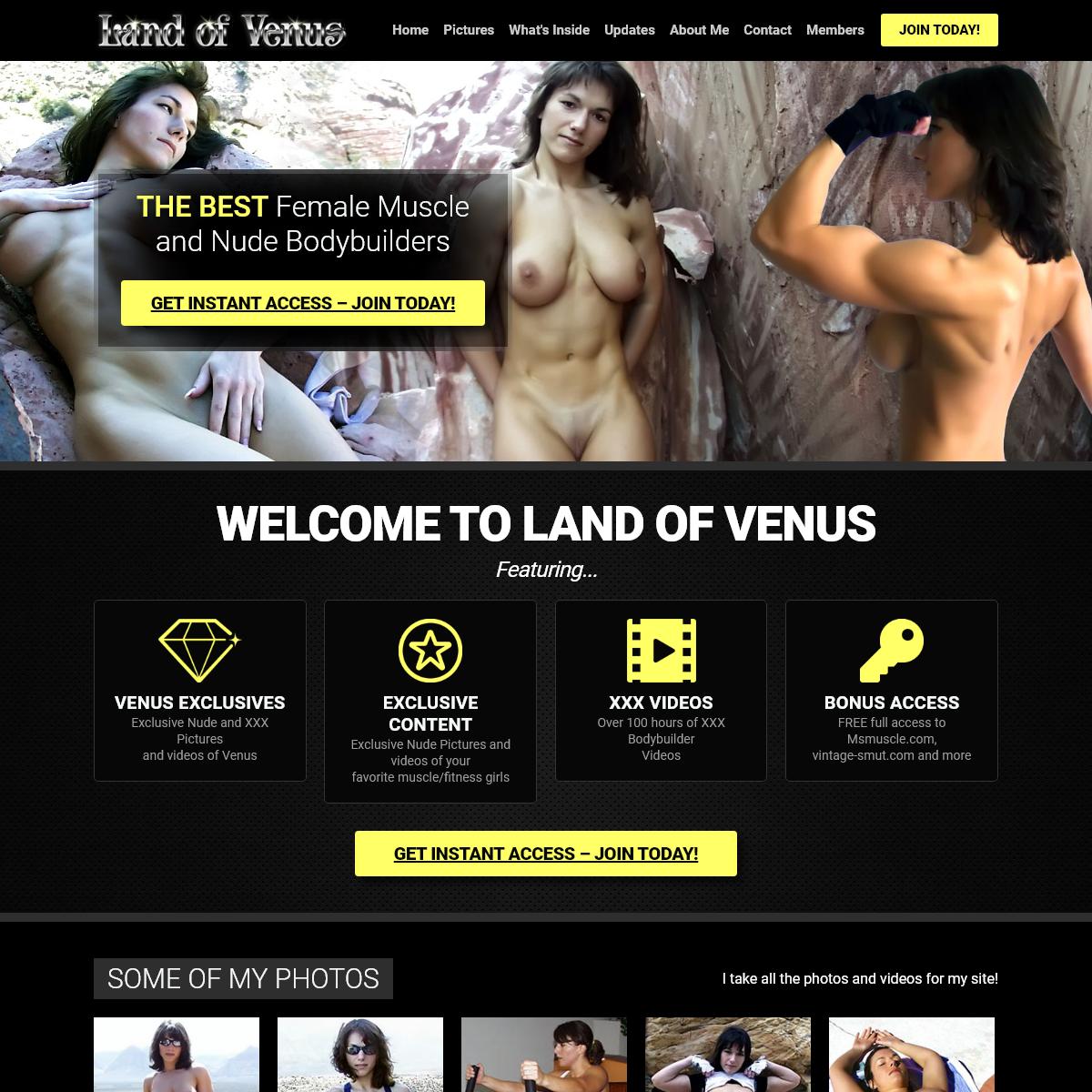 A complete backup of www.www.landofvenus.com