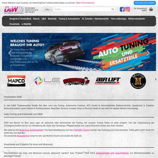 duw-tuner.de-Car Tuning - Auto Teile - Motorrad Zubehör und mehr von D&W