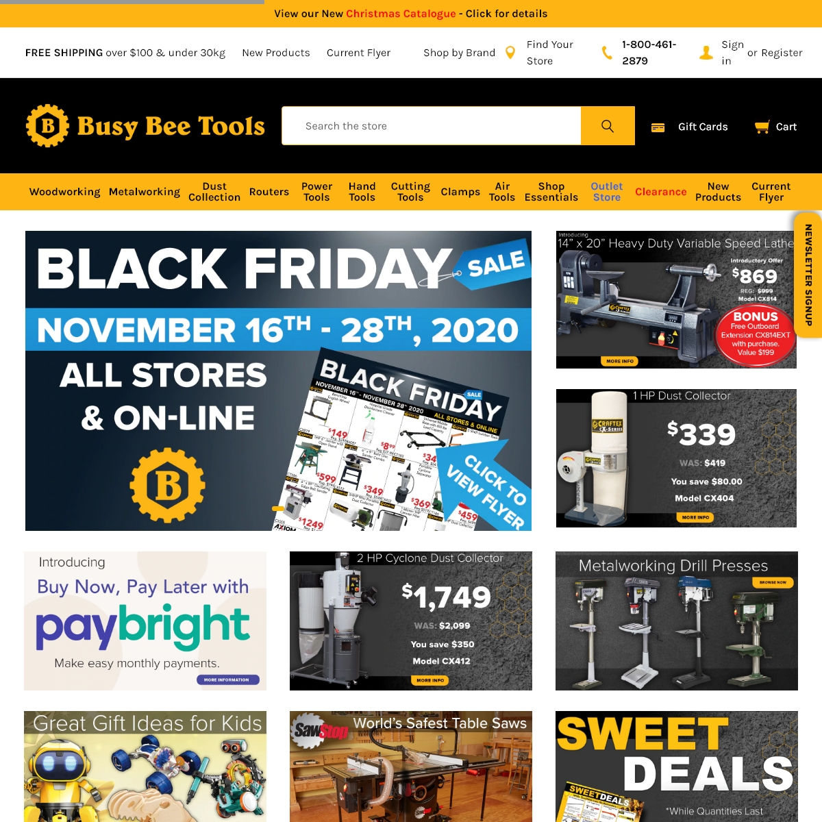 Busy Bee Tools - Woodworking Tools, Metalworking Tools, Power Tools at factory direct prices.