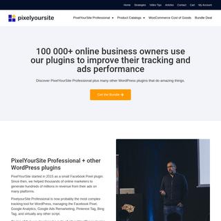 PixelYourSite- Facebook Pixel, Google Analytics, Google Ads, Pinterest