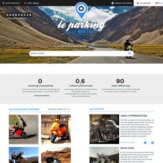 Le Parking-Moto - Recherche de motos d`occasion partout en Europe
