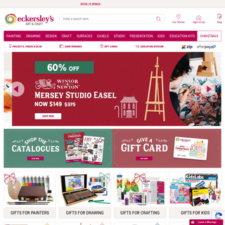 Art & Craft Supplies In Store & Online - Eckersley`s