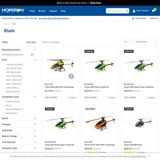 Blade RC Products - Horizon Hobby