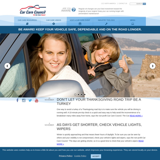 Be Car Care Aware - The Car Care CouncilBe Car Care Aware - CarCare.org