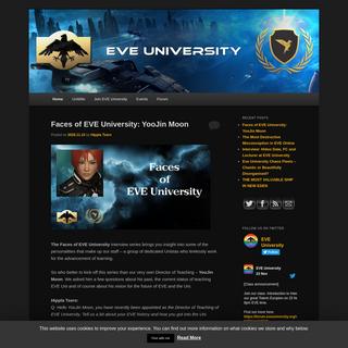 EVE University - EVE`s premier teaching organizationEVE University - EVE`s premier teaching organization