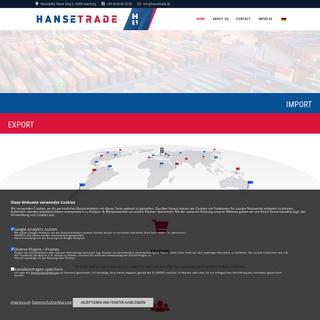 HTC Hansetrade Cooperation GmbH – IMPORT - EXPORT