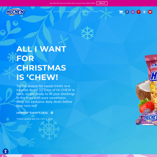 Hi-Chew - The Famous Fruity Chewy Candy From Japan.