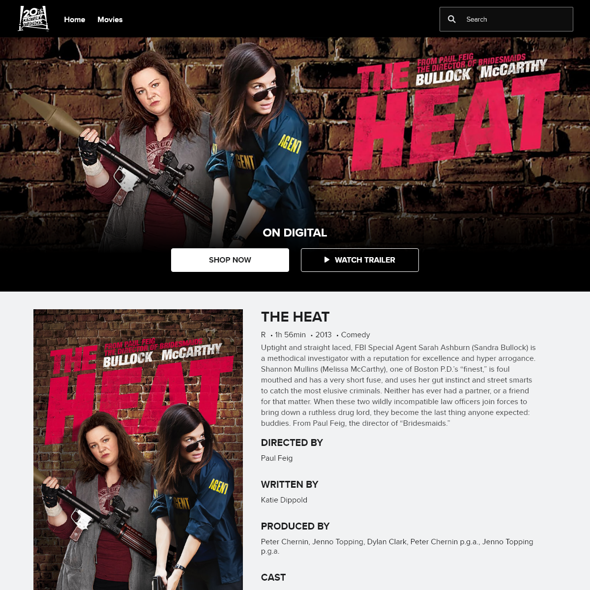 The Heat - 20th Century Studios