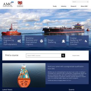 Australian Maritime College - Australian Maritime College - University of Tasmania