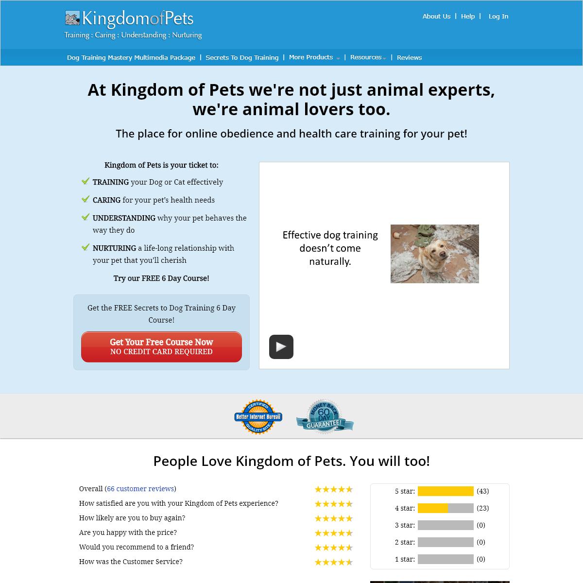 Kingdom of Pets