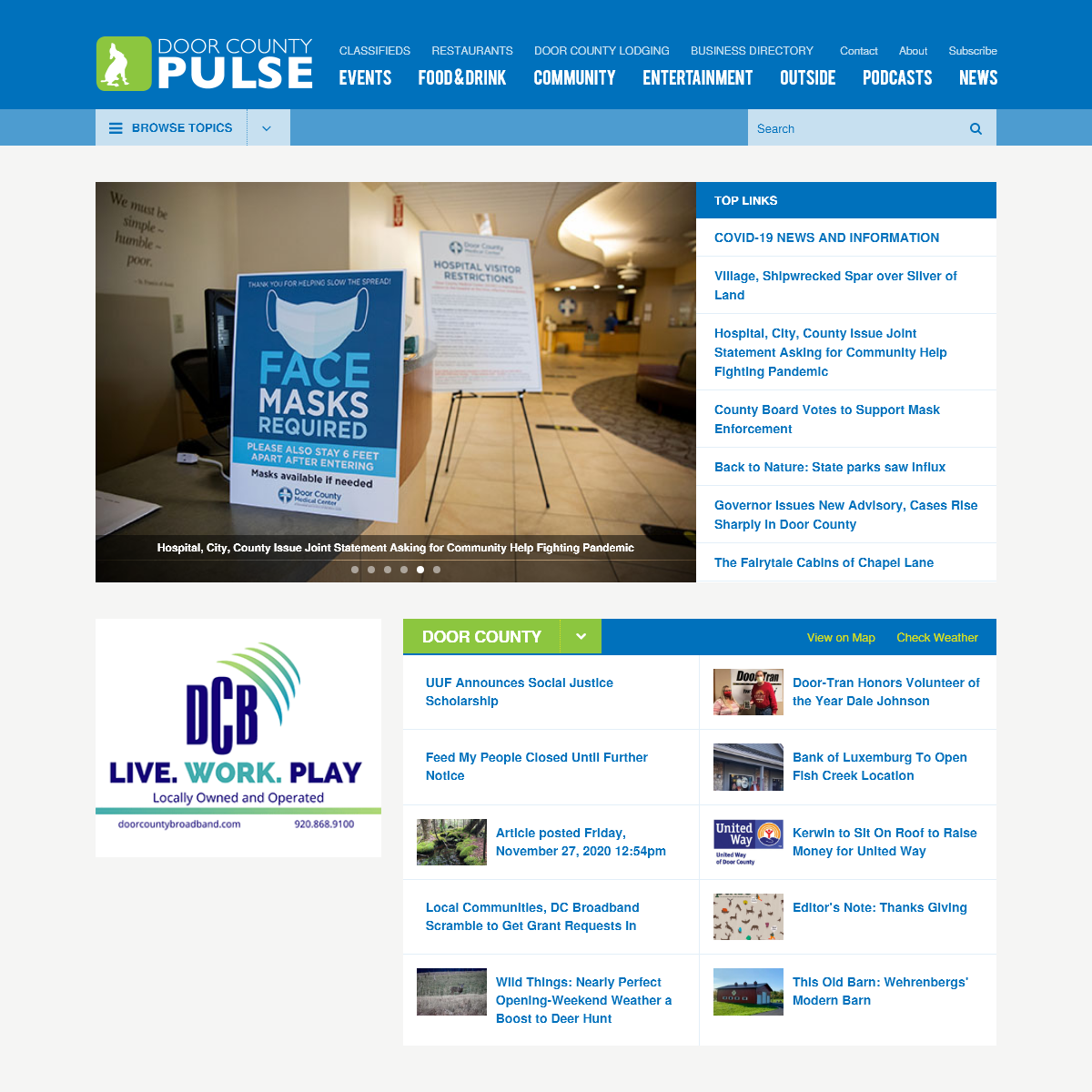 Door County News - Door County Pulse