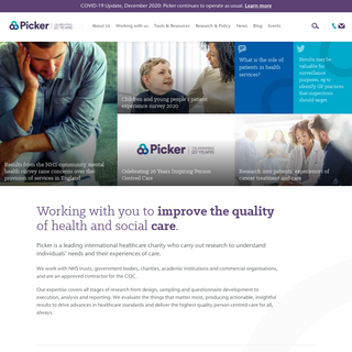 Person centred care to deliver high-quality healthcare experiences