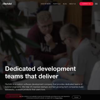 Custom Software Development Company & Dedicated Teams for Startups - iTechArt