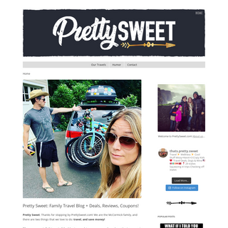 Pretty Sweet- Family Travel Blog + Deals, Reviews, Coupons!