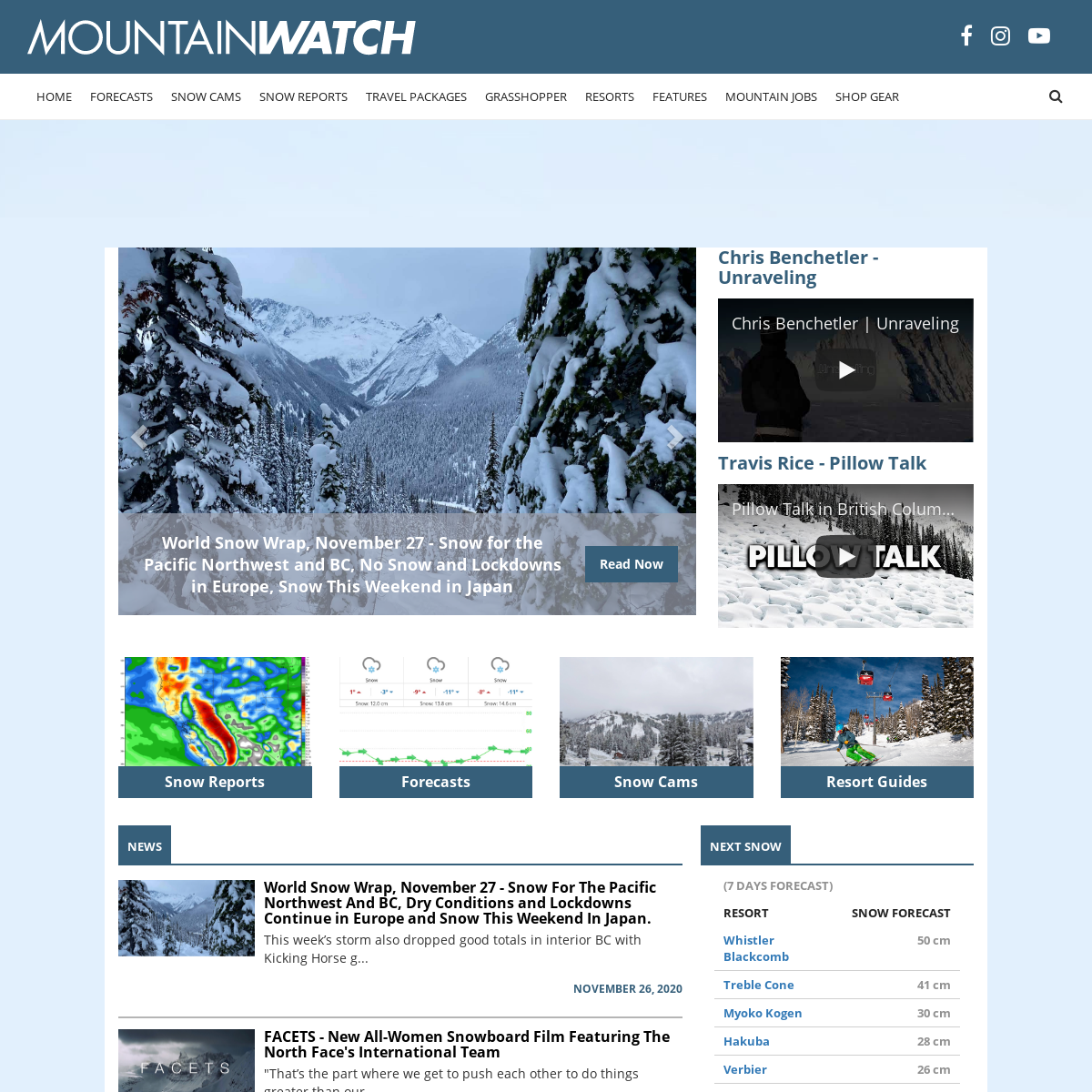 Mountainwatch - The Definitive Voice of the Mountains Worldwide