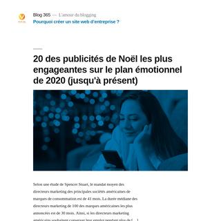 Blog365 - L`amour du blogging