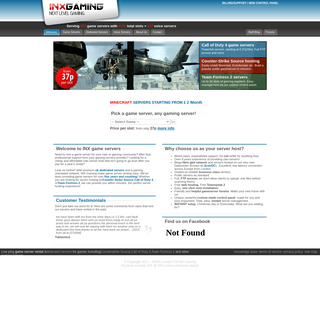 UK gameservers. Dedicated hosting for Counterstrike Source, Team Fortress 2, Left 4 Dead 2, Call of Duty, MineCraft