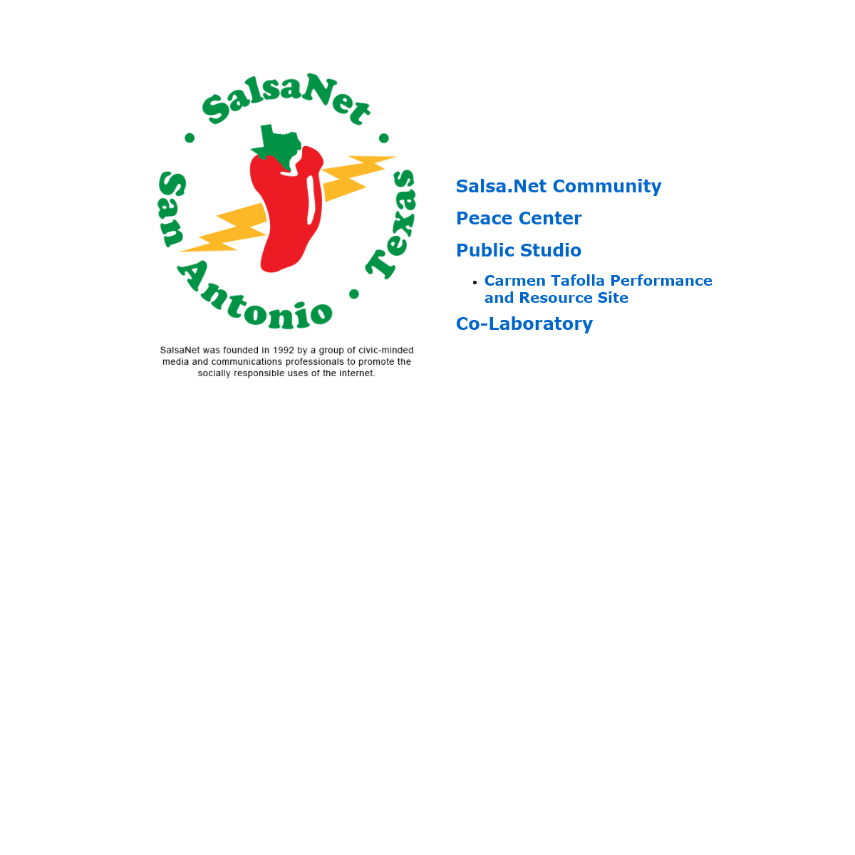 A complete backup of salsa.net