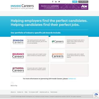 Graduate Jobs, Internships & Careers Advice - Inside Careers