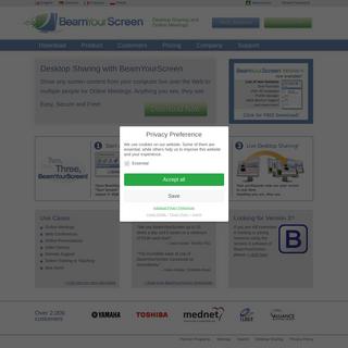 BeamYourScreen- Desktop Sharing, Online Meetings and Web Conferences