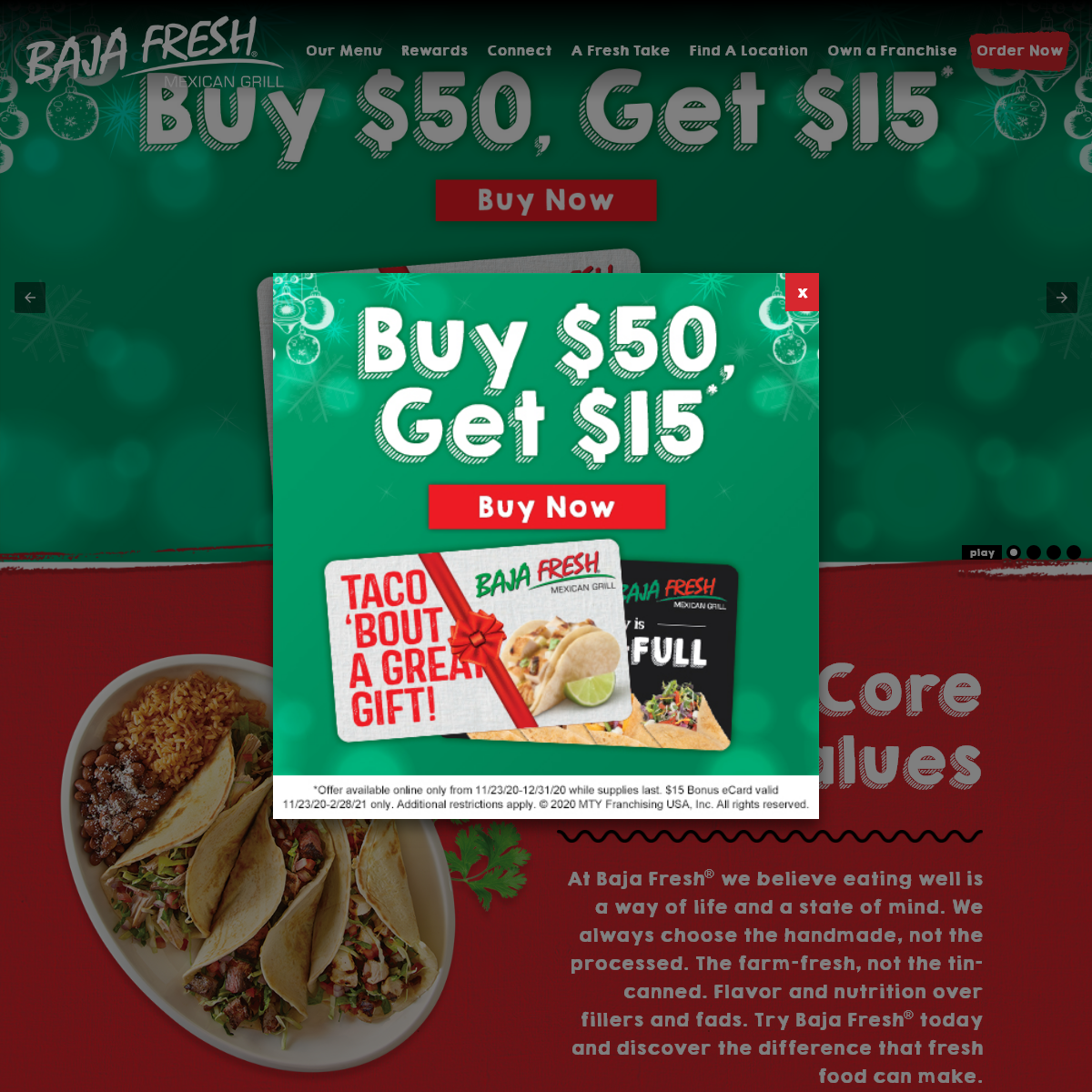 Baja Fresh Mexican Grill- Local Mexican Food