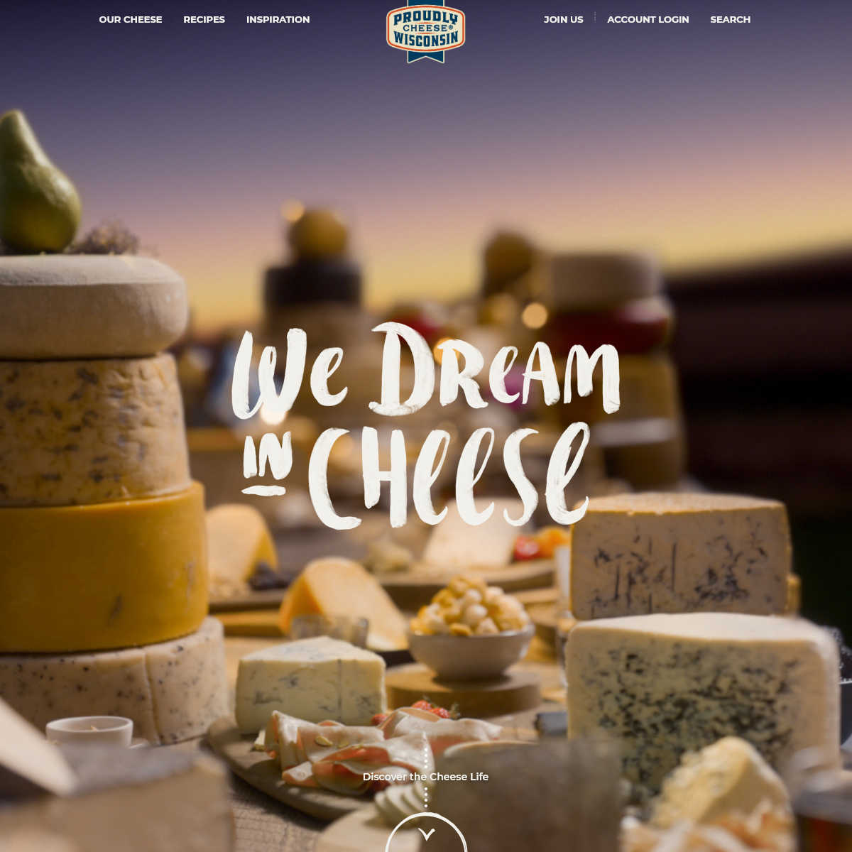 Wisconsin Cheese from The Cheese State ! We Dream in Cheese - Wisconsin Cheese