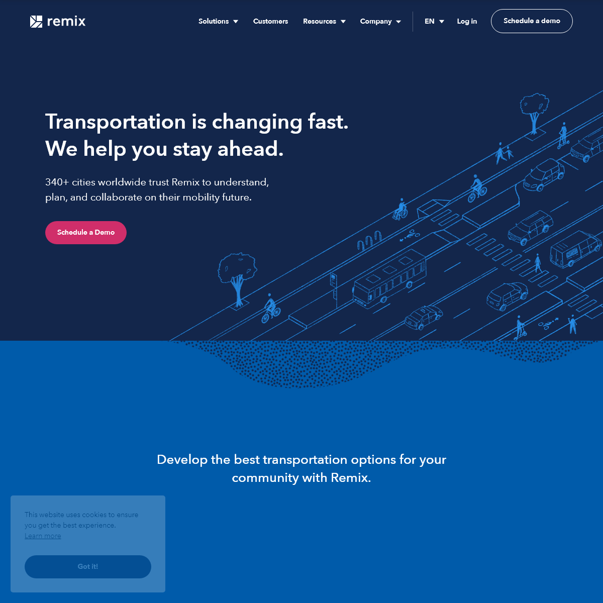 Remix - The Collaborative Platform for Transportation Decision-Makers