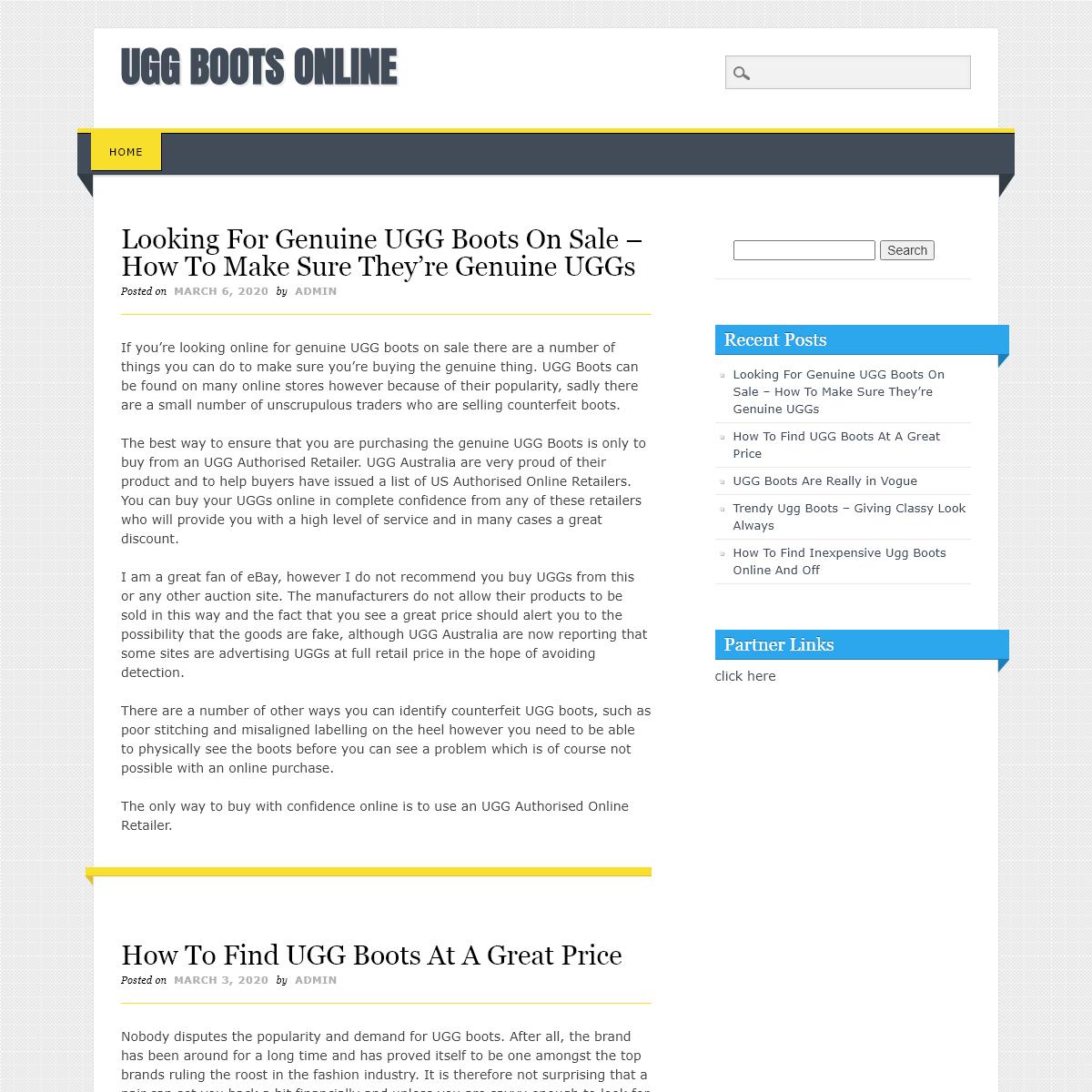 Ugg Boots Online
