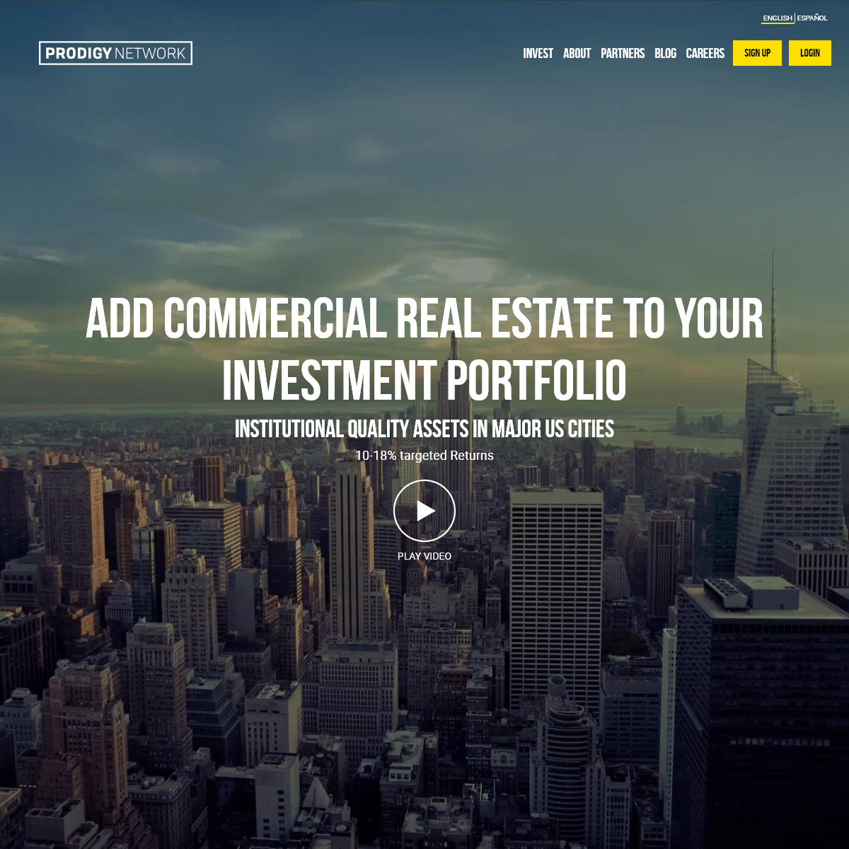 Prodigy Network - Invest in commercial real estate