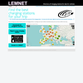 LEMNET - Charging Stations for Electric Vehicles