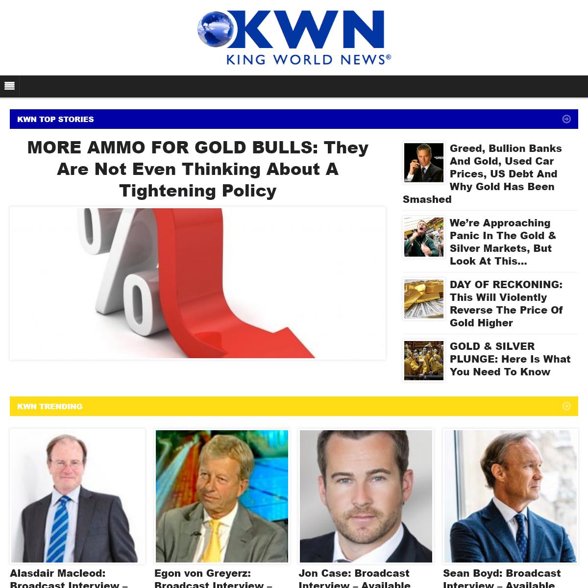 King World News