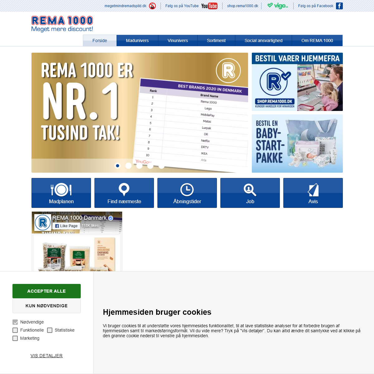 A complete backup of rema1000.dk
