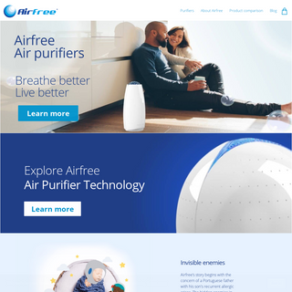 Airfree Air Purifiers USA
