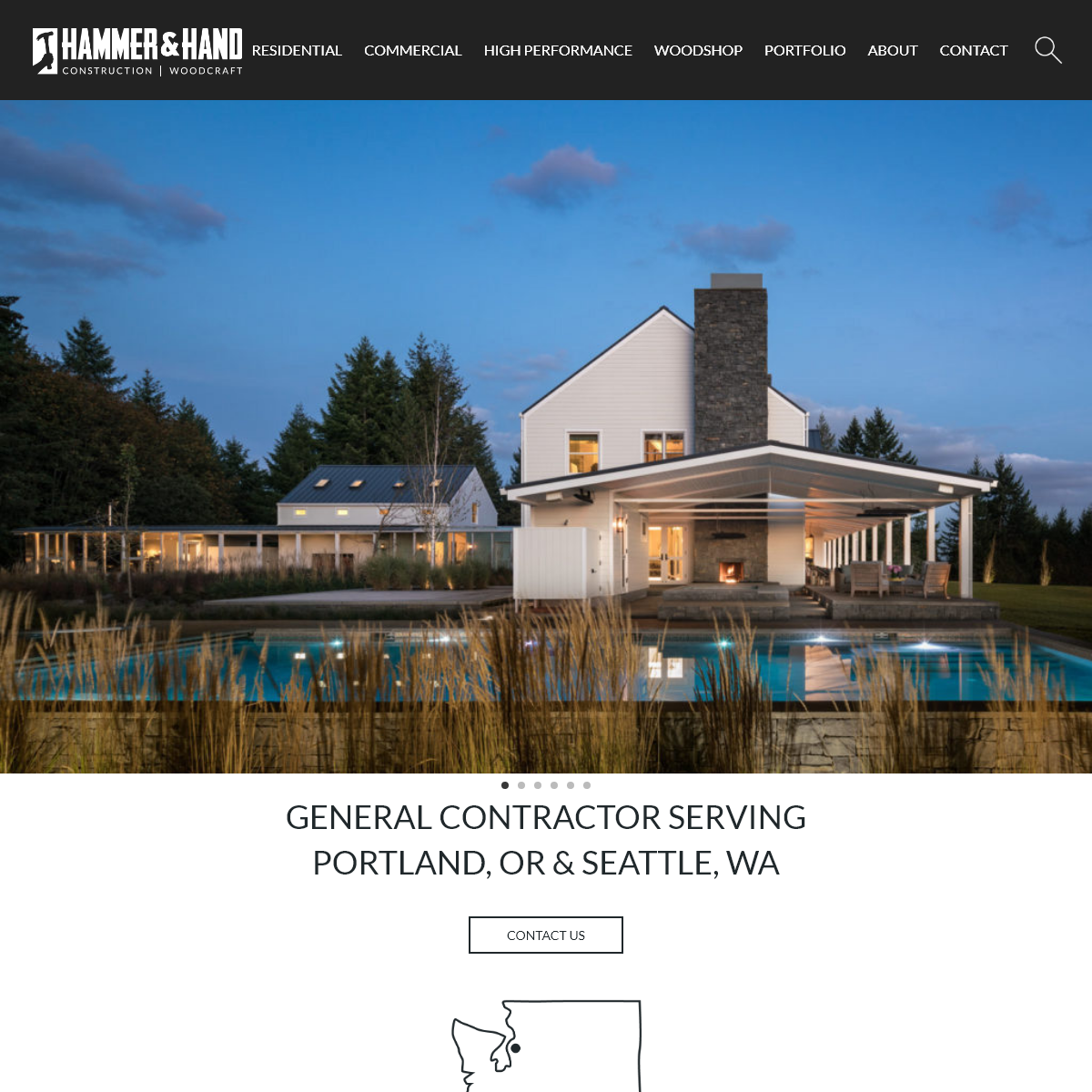 General Contractor - New Homes & Remodels - Portland & Seattle