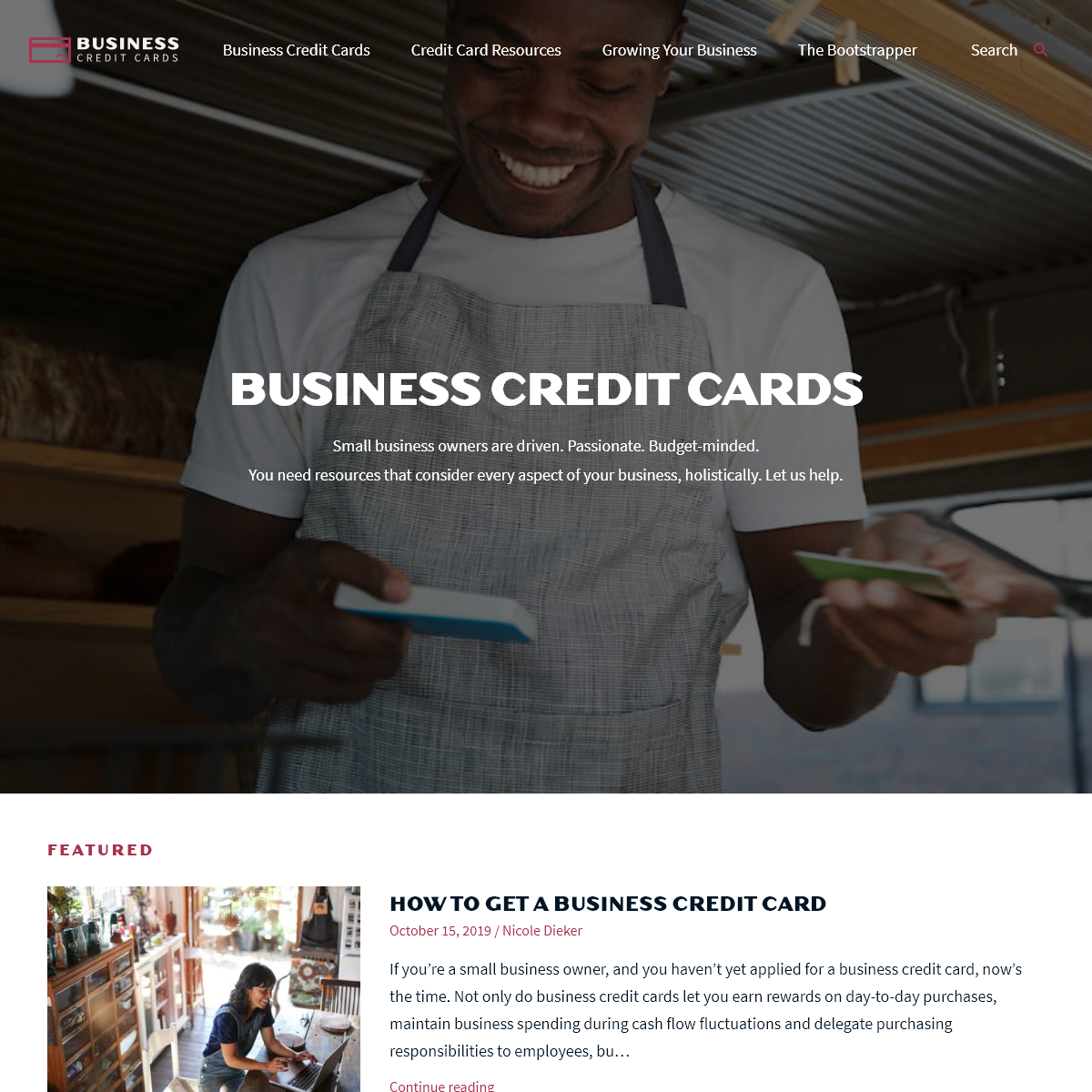 BusinessCreditCards.com - Providing the best resources for your business