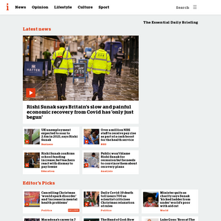 inews.co.uk - The Essential Daily Briefing