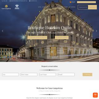 Casa Gangotena Hotel Boutique in Quito - Official Site