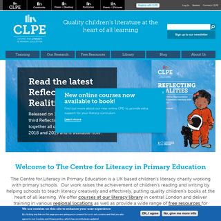 Centre for Literacy in Primary Education