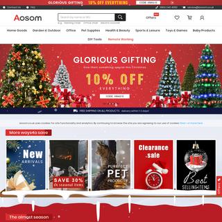 Leading Online Shopping UK Mainland Free Shipping - Aosom