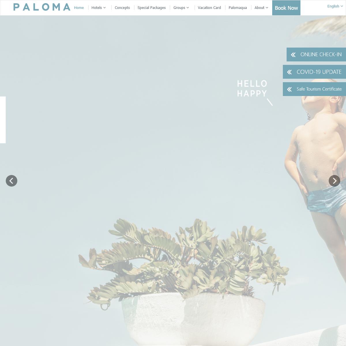 Paloma Hotels - Turkey