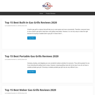 Dave`s Grill - Latest Grill Reviews & Buying Guides. A Diamond In The Rough!