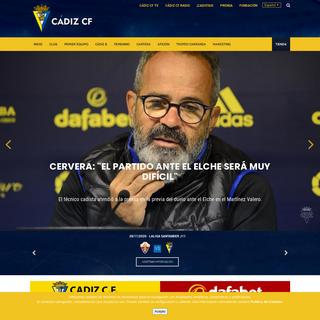 Cádiz Club de Fútbol SAD - Cádiz CF - Web Oficial