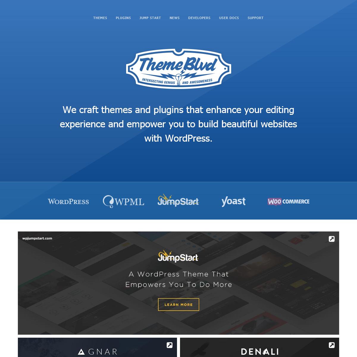 Theme Blvd - Awesome WordPress Themes and Plugins