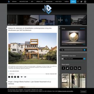 Journal du Design - Le site du design, de l`architecture, de l`art, du high-tech, de la mode et des tendances urbaines