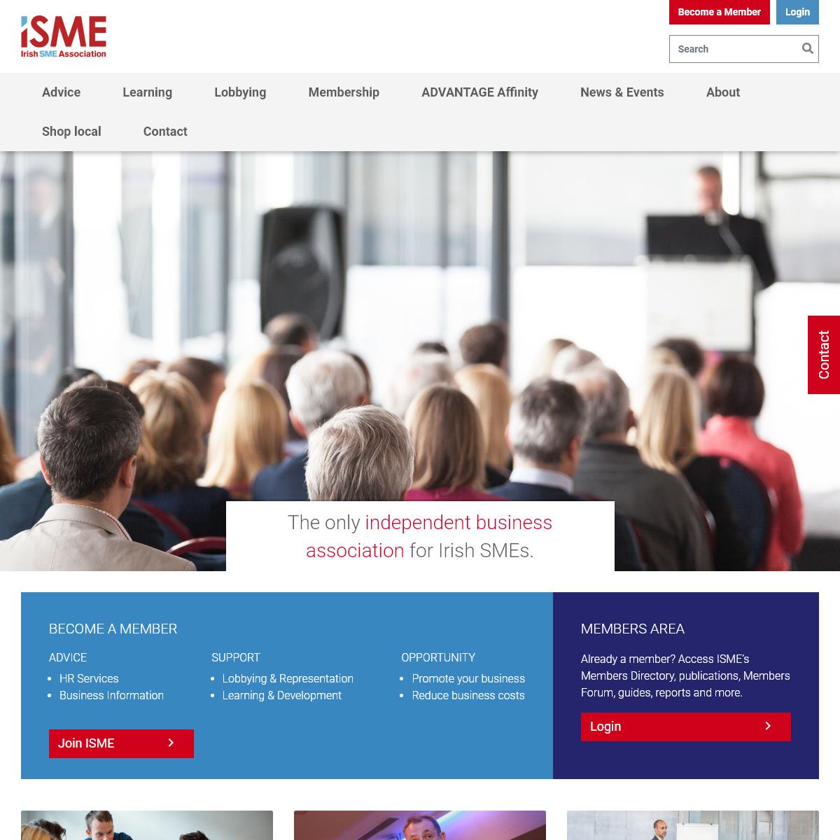 Homepage - ISME
