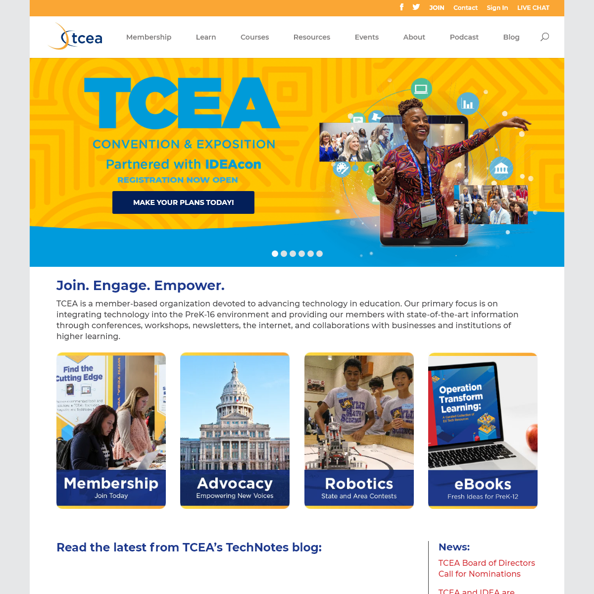TCEA Helps Educators Advance Teaching and Learning Using Technology