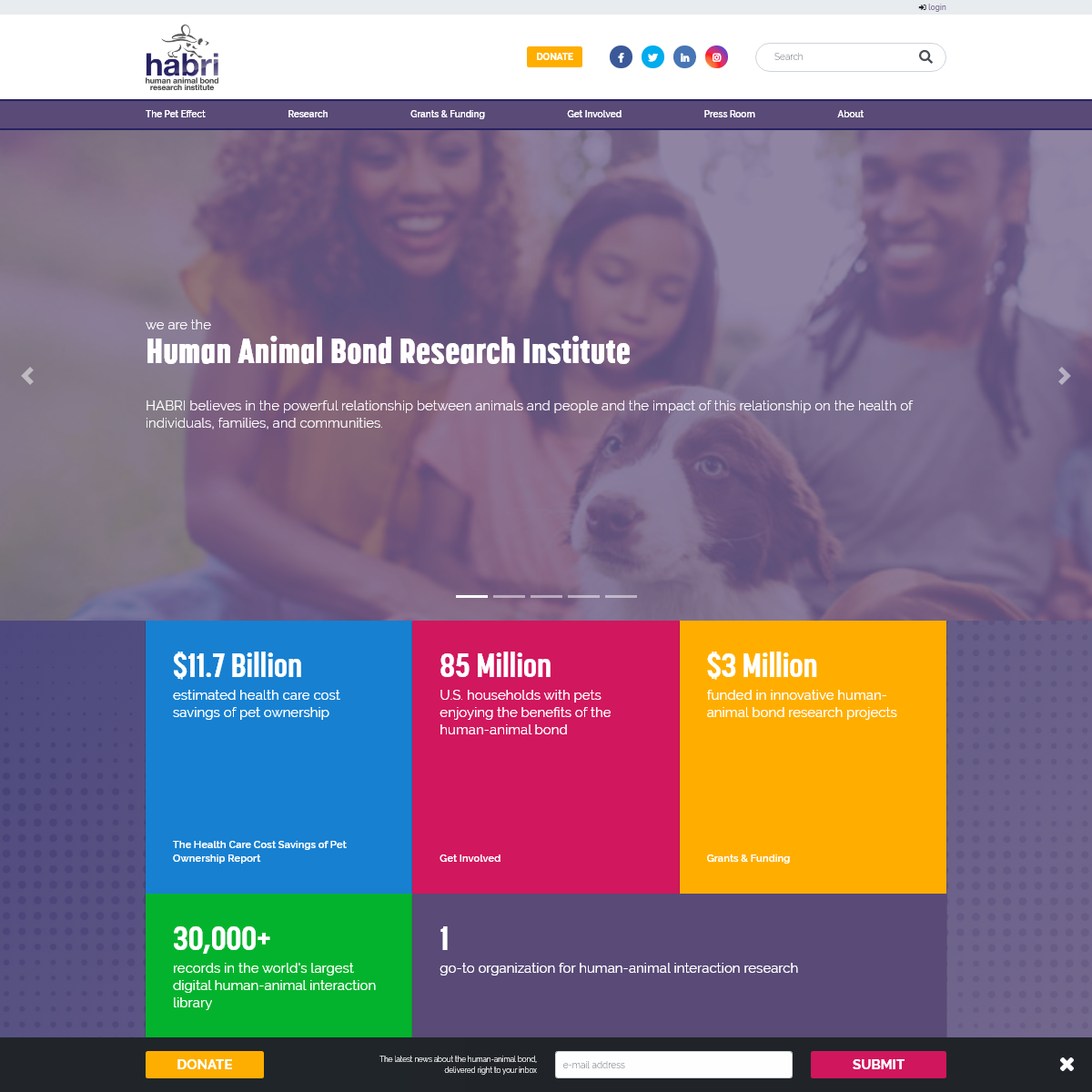 HABRI - The Human Animal Bond Research Institute