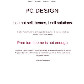 Poisoned Coffee- WordPress design and customization