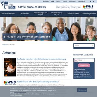 Aktuelles - Portal Globales Lernen